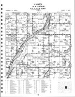 North Anson Township, NW Arthur Township, NE Eagle Point Towhship, Chippewa County 1991