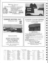 SW Colburn Township and NE Arthur Township Owners Directory, Ad - Mewhorter Disposal, Cadott Color Center, Chippewa County 1991