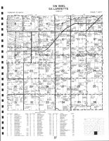 SW Sigel and SE Lafayette Townships, Chippewa County 1991
