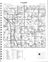 West Bloomer Township, Chippewa County 1991