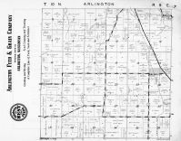 Arlington Township, Columbia County 1953