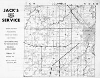 Columbus Township, Robbins Creek, Columbia County 1953