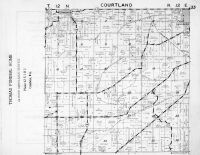 Courtland Township, Randolph, Cambria, Columbia County 1953