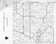 Fountain Prairie Township, Fall River, Columbia County 1953