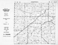 Hampden Township, Crawfish River, Columbia County 1953