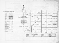 Index Map, Columbia County 1953