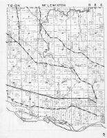 Lewiston Township - East, Wisconsin River, Portage, Columbia County 1953