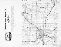 Lodi Township, Okee, Lake Wisconsin, Columbia County 1953