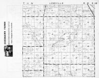 Loweville Township, Mud Lake, Columbia County 1953