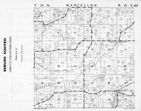 Marcellon Township, Belle Fountain, Dates Mill Pond, Columbia County 1953