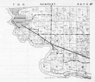 Newport Township, Wisconsin Dells, Columbia County 1953