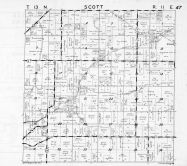 Scott Township, Columbia County 1953