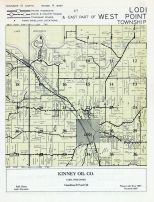 Lodi Township, West Point Township - East, Lake Wisconsin, Columbia County 1956c