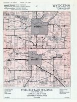 Wyocena Township, Pardeeville, Swan Lake, Park Lake, Columbia County 1956c
