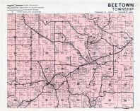 Beetown Township, Grant County 1956