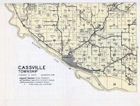 Cassville Township, Mississippi, Grant County 1956