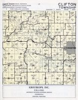 Clifton Township, Livingston, Grant County 1956