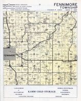 Fennimore Township, Grant County 1956