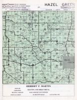 Hazel Green Township, Grant County 1956