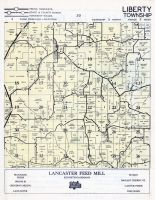 Liberty Township, Stitzer, Grant County 1956