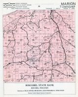 Marion Township, Grant County 1956