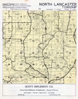 North Lancaster Township, Grant County 1956