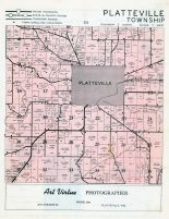 Platteville Township, Grant County 1956
