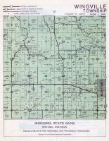 Wingville Township, Montfort, Grant County 1956