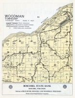 Woodman Township, Wisconsin River, Grant County 1956