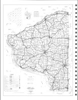 Grant County Highway Map, Grant County 1990