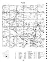 Potosi Township - North, Grant County 1990