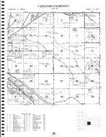Code 16 - Brockway Township - East, Komensky Township - South, Jackson County 1986