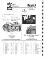 Manchester, Irving and Albion Townships Owners Directory, Ad, Jackson County 1986