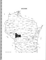 Wisconsin State Map, Jackson County 1986