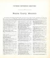 Patrons' Directory 1, Monroe County 1915