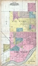 Appleton City - West, Outagamie County 1917