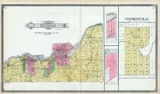 Buchanan Township, Kaukauna City, Stephensville, Brill, Gilmore, Outagamie County 1917