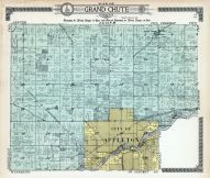 Grand Chute Township, Appleton City, Apple Creek, Outagamie County 1917