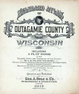 Title Page, Outagamie County 1917