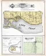 Isabelle Township, Bay City, Trimbelle, Olivet, Lake Pepin, Pierce County 1905