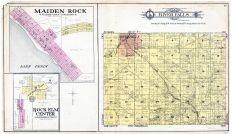 River Falls Township, Maiden Rock, Rock Elm Center, Kinnickinnic River, Pierce County 1905