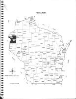 Wisconsin State Map, Polk County 1980