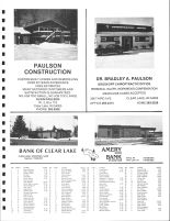 Clear Lake Township Owners Directory, Polk County 1988