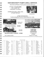 West Sweden Township Owners Directory, Polk County 1988