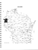 Wisconsin State Map, Polk County 1988