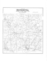 Henrietta Township, Woodstock, Hub City, Yuba, Richland County 1895