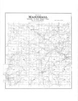 Marshall Township, McGrew P.O., Mill Creek P.O., Buckeye, Gillingham, Richland County 1895