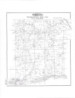 Orion Township, Wisconsin river, Indian Creek, Richland County 1895