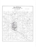 Richland Township, Richland Center, Richland County 1895