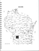 Wisconsin State Map, Richland County 1994